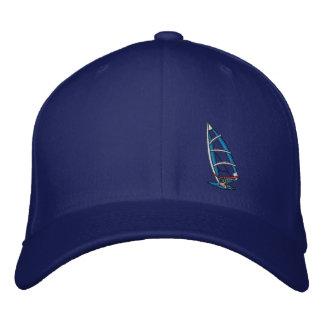 Hombre de mar extremo del gorra del embarque de la gorra bordada