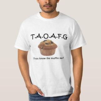 Hombre de mollete de TAOAFG Playera