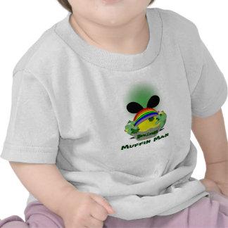 Hombre de mollete irlandés camisetas