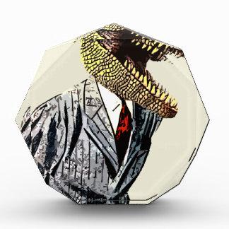 Hombre de negocios de Rex del Tyrannosaurus