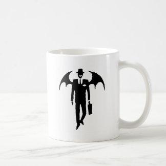 hombre de negocios del diablo taza clásica