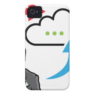 Hombre de negocios del progreso del intercambio de Case-Mate iPhone 4 protectores