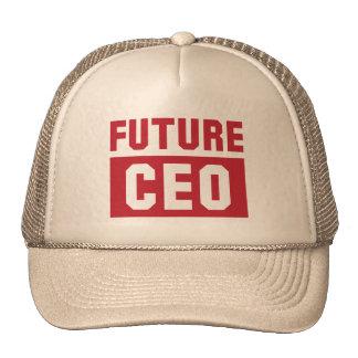 Hombre de negocios futuro del director general del gorro de camionero