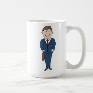Hombre de negocios tazas