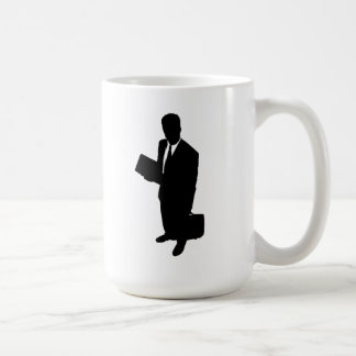 Hombre de negocios taza de café
