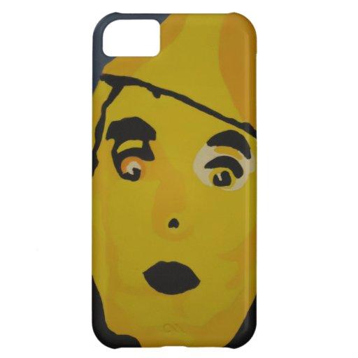 Hombre de oro de la lata funda para iPhone 5C