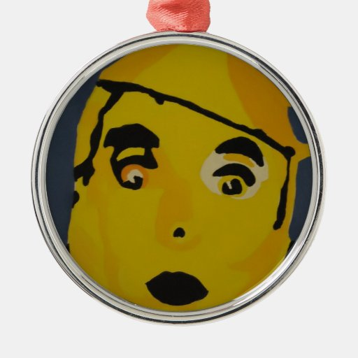 Hombre de oro de la lata ornamentos de reyes