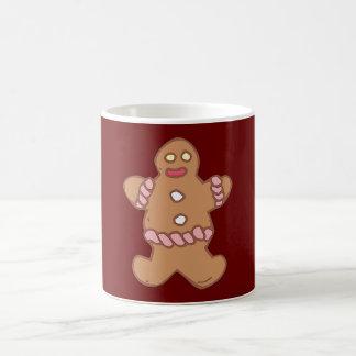 Hombre de pan de especias gingerbread usted taza clásica