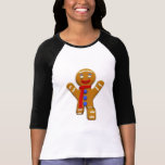 Hombre de pan de jengibre - aterrizaje perfecto camisetas