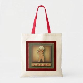 Hombre de pan de jengibre de la galleta bolsa tela barata