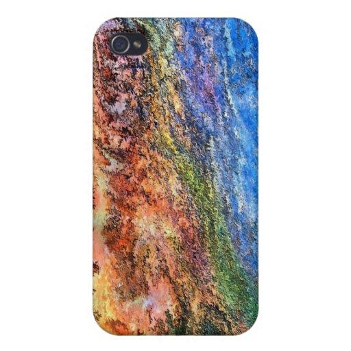Hombre de piedra por el rafi talby iPhone 4/4S funda