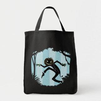 Hombre de Punkin del bosque Bolsa Tela Para La Compra