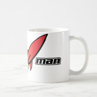 Hombre de Rocket Taza De Café