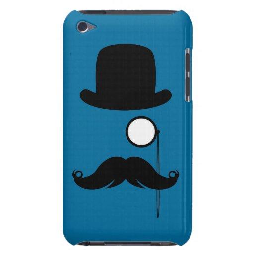 Hombre de Stache del bigote del bigote Barely There iPod Carcasa