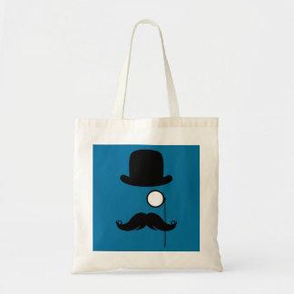 Hombre de Stache del bigote del bigote Bolsa Tela Barata