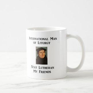 Hombre de taza de la liturgia