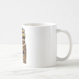 Hombre de Tiki Taza De Café