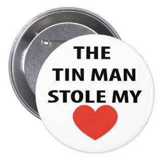 Hombre de Tim Pin Redondo De 3 Pulgadas