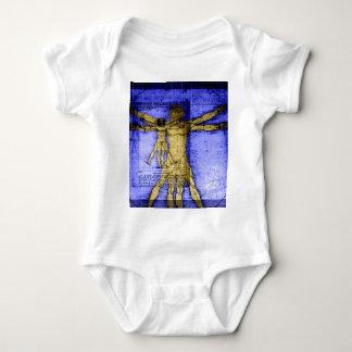 Hombre de Vitruvian Body Para Bebé
