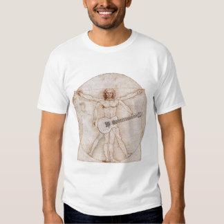 Hombre de Vitruvian Poleras