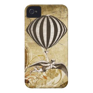 Hombre de vuelo del Victorian Carcasa Para iPhone 4 De Case-Mate