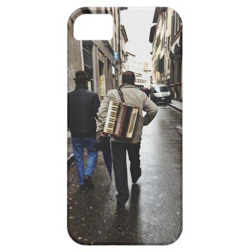 Hombre del acordeón iPhone 5 Case-Mate coberturas