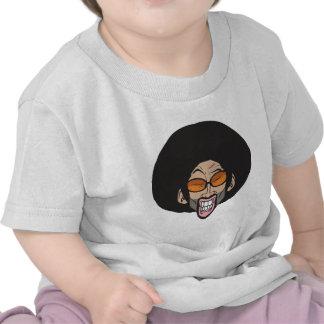 Hombre del Afro de Hiphop Camiseta