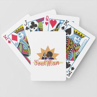 Hombre del alma baraja de cartas