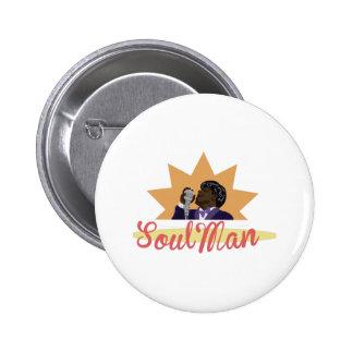 Hombre del alma chapa redonda 5 cm