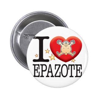 Hombre del amor de Epazote Pin Redondo De 2 Pulgadas