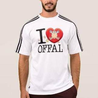 Hombre del amor de las menudencias camiseta