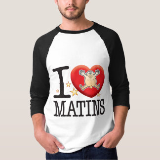 Hombre del amor de Matins Playera