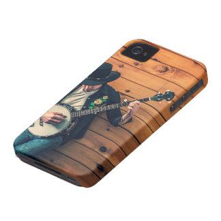 Hombre del banjo Case-Mate iPhone 4 protector