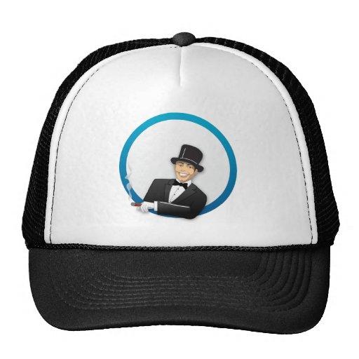 Hombre del casino gorra