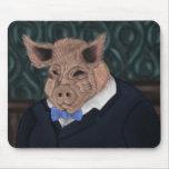 Hombre del cerdo tapetes de ratones