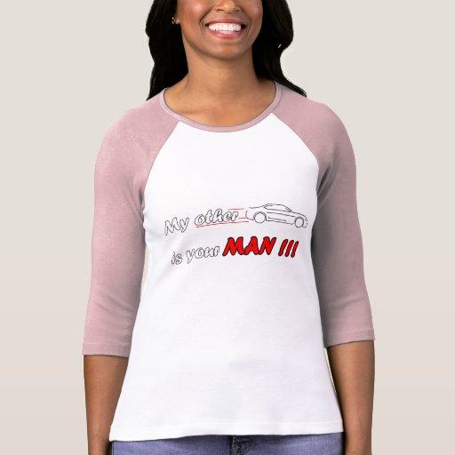 Hombre del coche camiseta