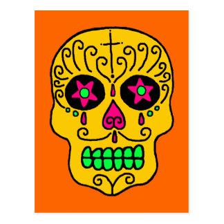 Hombre del cráneo del azúcar postales