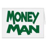 Hombre del dinero tarjeta