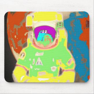 hombre del espacio tapete de ratón