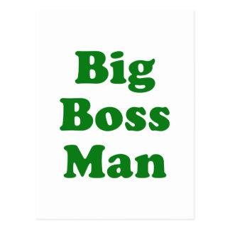 Hombre del gran jefe postal