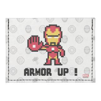 ¡hombre del hierro 8Bit - armadura para arriba! Tarjeteros Tyvek®