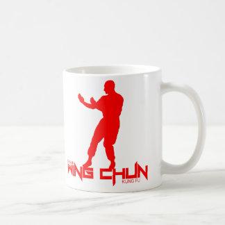 """Hombre del IP - ala Chun """"Kung Fu """" Taza Básica Blanca"""
