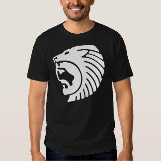 Hombre del león, diseño griego del alivio playeras