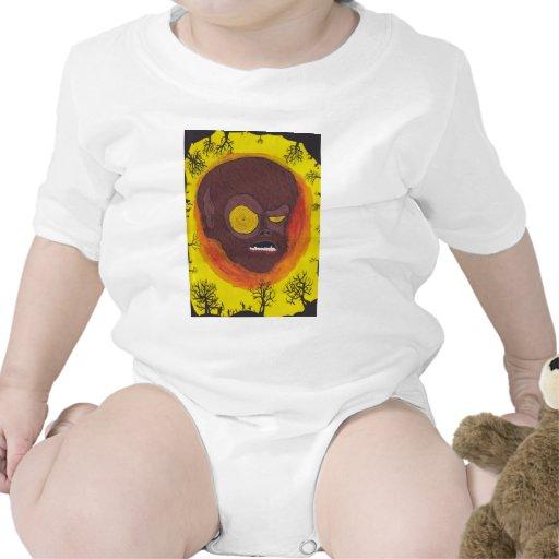 hombre del lobo del hypno traje de bebé
