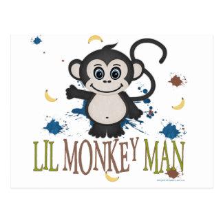 Hombre del mono de Lil Postal