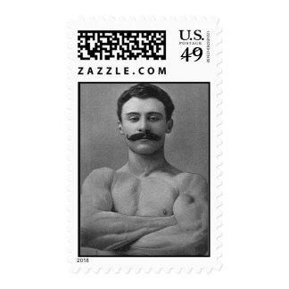 Hombre del músculo sello