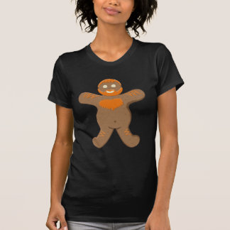 Hombre del oso del jengibre camisetas