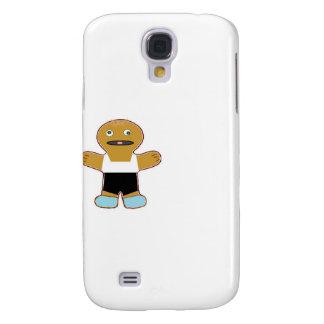 hombre del pan del jengibre de Haha Samsung Galaxy S4 Cover