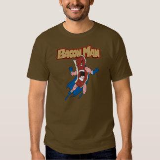 Hombre del tocino camisas