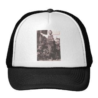 Hombre del vintage gorra